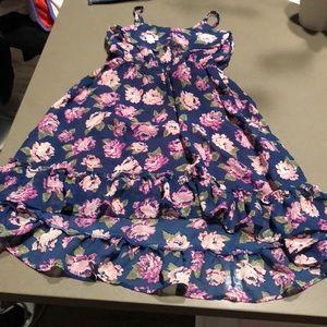 Children place dress (floral)